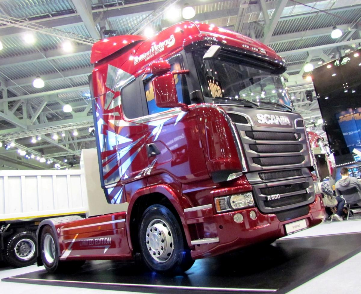 Scania R500 Limiter Edition Brilliant Victory Comtrans Комтранс
