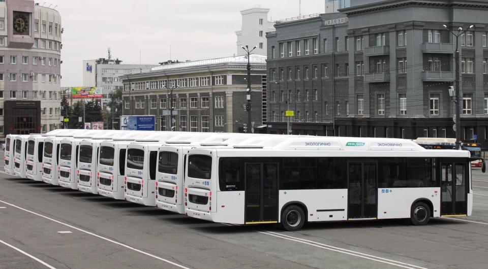 Челябинск получил газовые НЕФАЗы