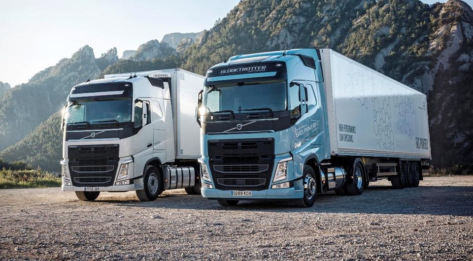 Volvo Trucks: новое поколение газовых тягачей