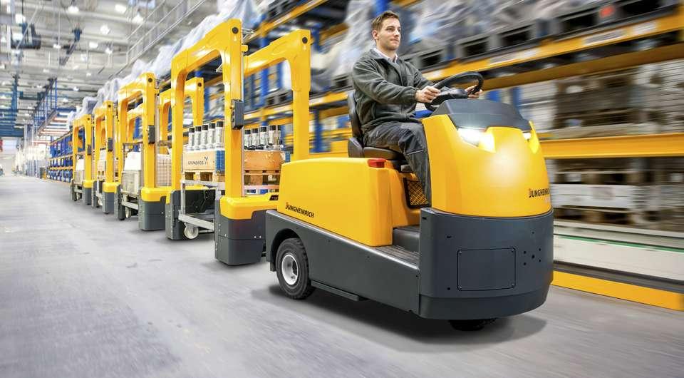 Jungheinrich. Новое поколение складских тягачей
