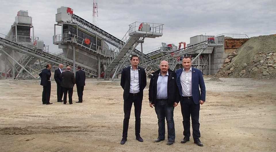 Sandvik: дробильно-сортировочный завод в Курганской области