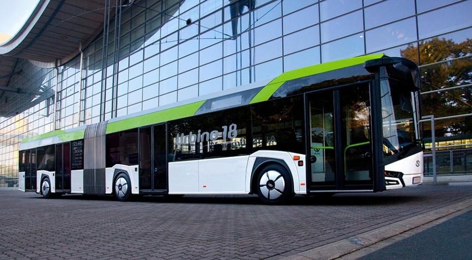 Solaris Urbino в новом кузове и новом дизайне