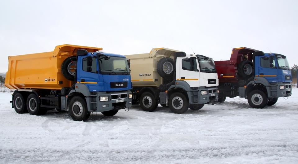 Начат выпуск тяжелых самосвалов КАМАЗ-6580