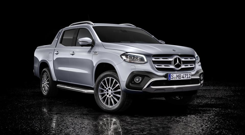 Российские цены на новейший пикап Mercedes-Benz X-Класс