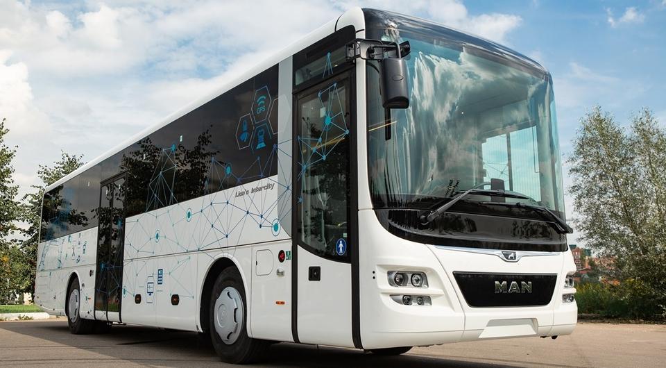 Эксклюзивный MAN Lion's Intercity Advance для «НовгородАвто»