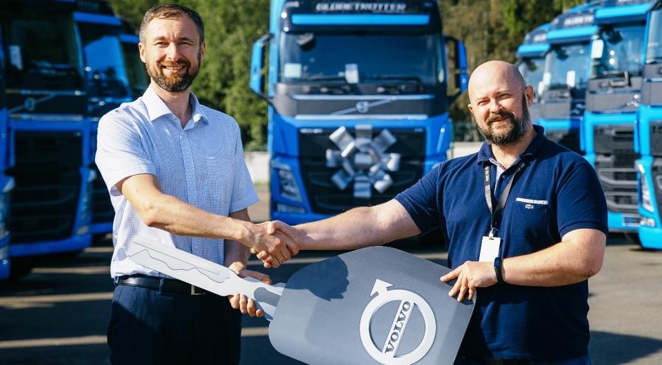 «ЭйСиРейл» получил первые Volvo FH LNG