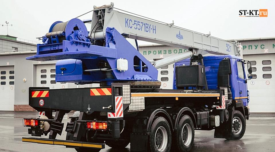 Могилевский кран: 32 тонны, 6х6 и в рамках дорожных ограничений