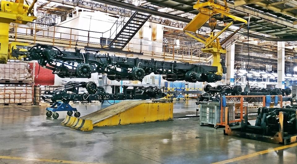 Камский автозавод: новое рамное производство