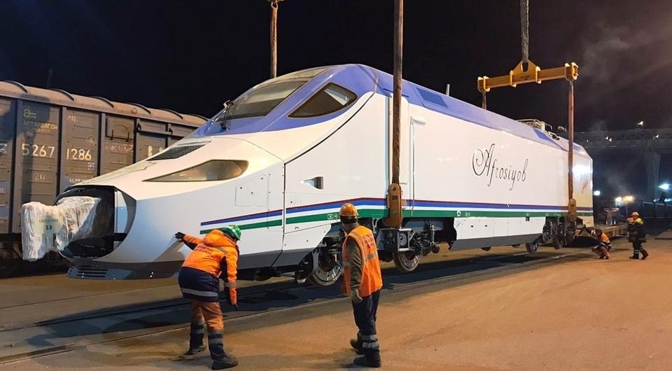 GEFCO доставила поезд Talgo из Испании в Узбекистан
