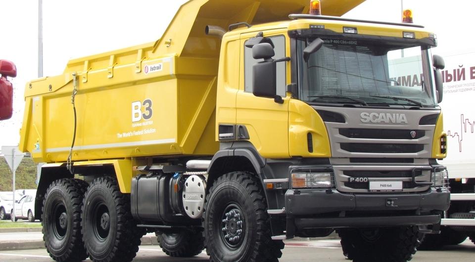 Спецназ на COMTRANS. Уникальная Scania для российских карьеров